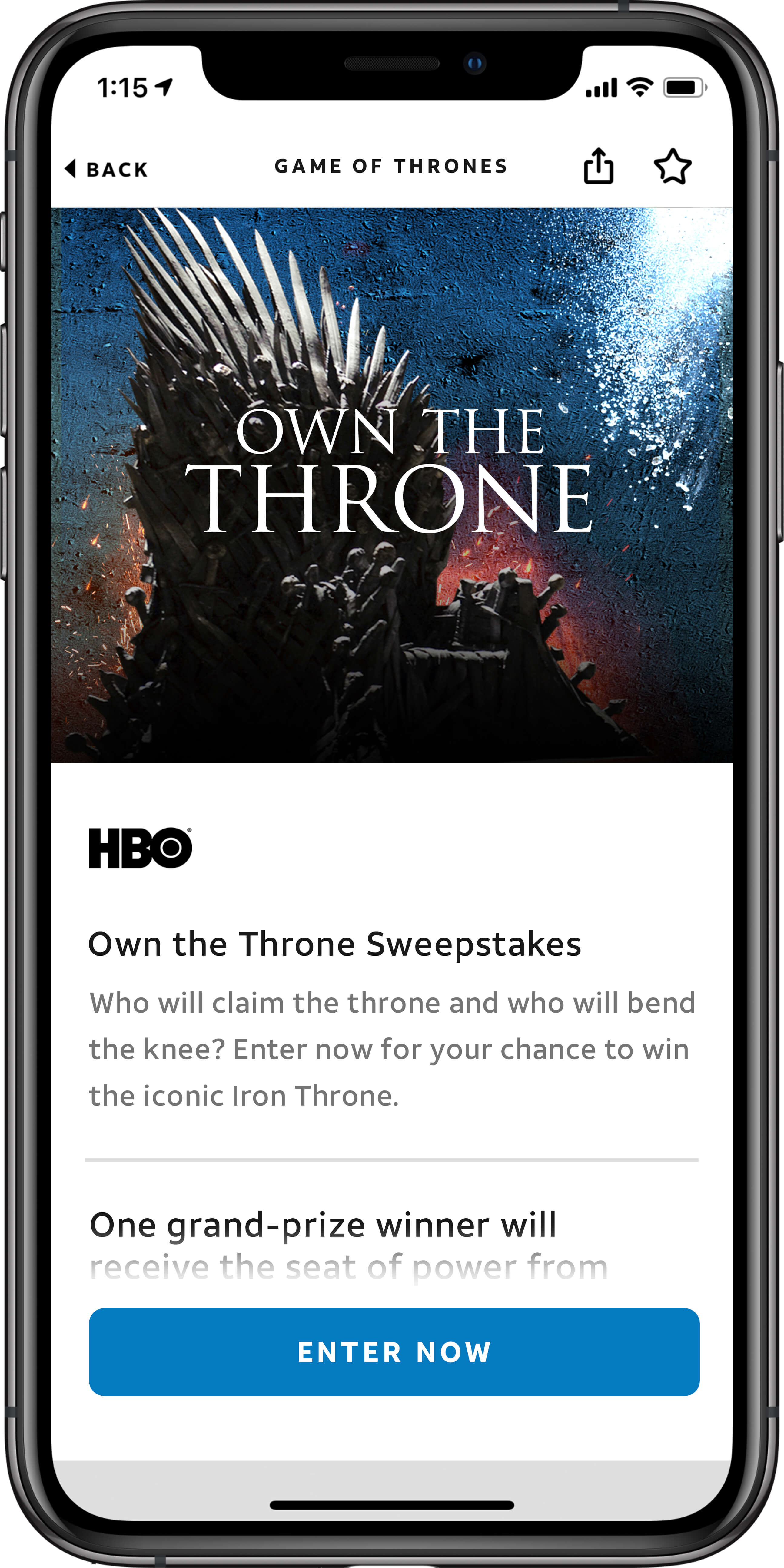 AT&T THANKS®: Own the Throne
